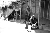 The women of the house. Desert zones close to Birjand-Iran 2013jpg