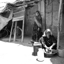 The women of the house. Desert zones close to Birjand-Iran 2013jpg